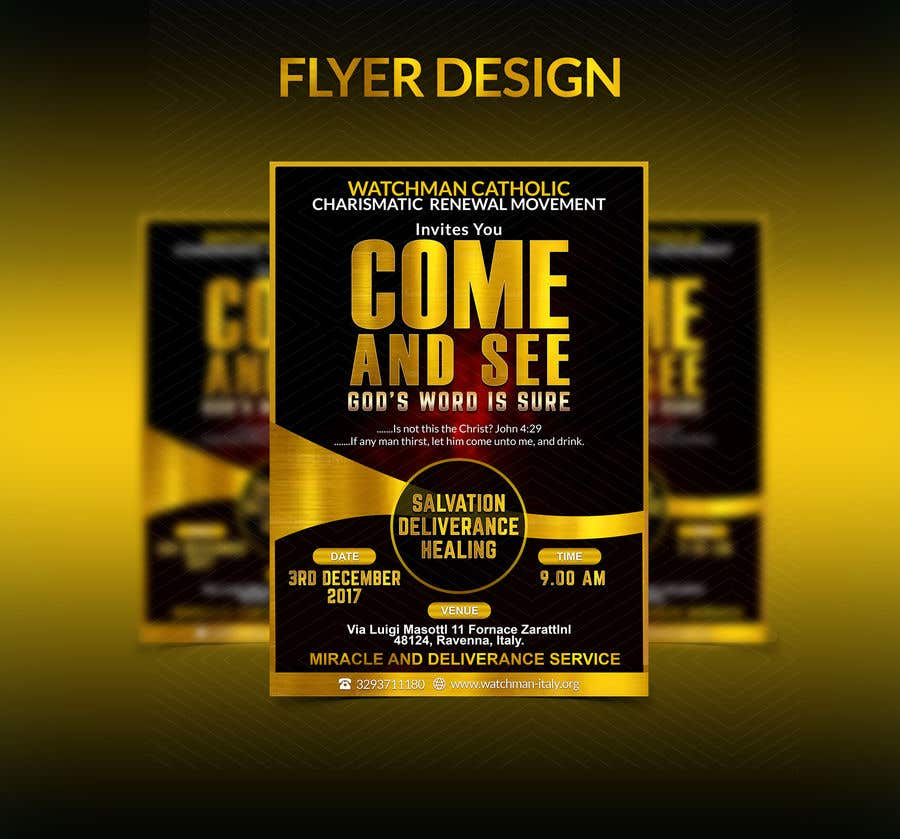 Contest Entry #25 for Design a best flyer