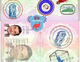#29 for FUN and responsive passport and destination stamps design for SAAS by padigir