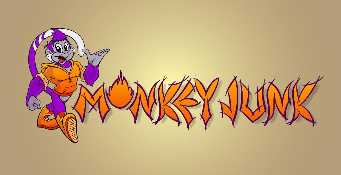 Конкурсная заявка №71 для Logo Design for Monkey Junk