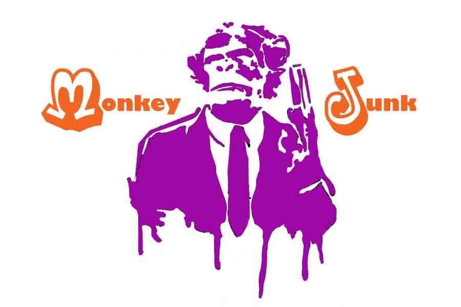 Proposition n°                                        80                                      du concours                                         Logo Design for Monkey Junk