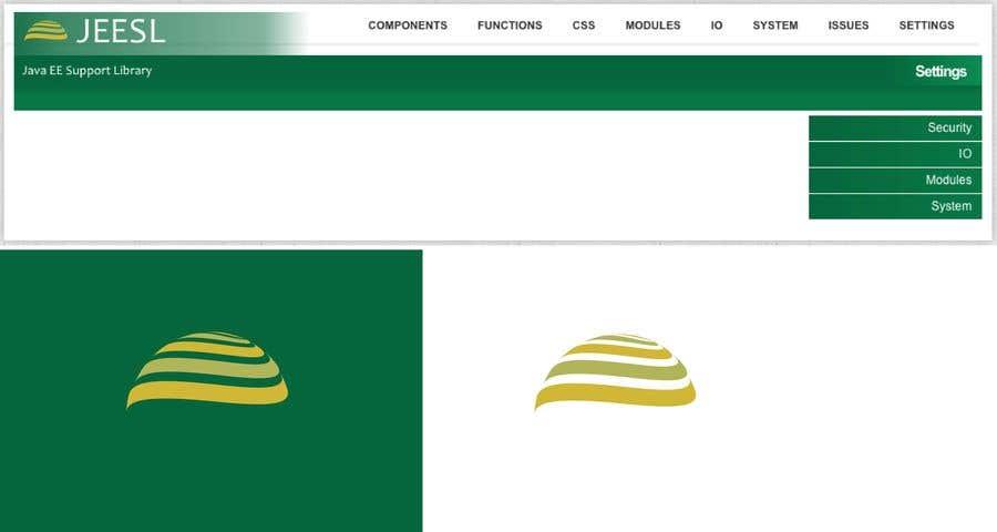 Entry #40 by EladioHidalgo for Logo Design for Java library Website