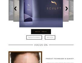 #29 for website for new brand called scuplt by truecolours100