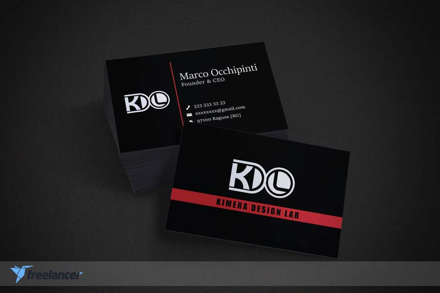 Entry #101 by jenny34770 for Business card Graphics Agency