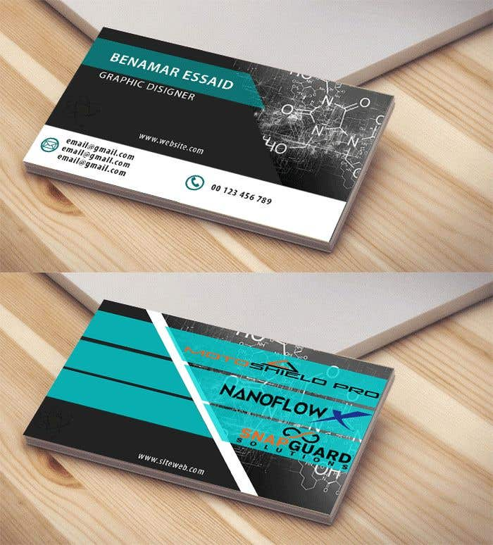 Entry #74 by benamarghiles for Modern High Tech Business Card ...