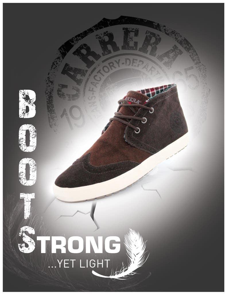Penyertaan Peraduan #                                        26                                      untuk                                         Poster Graphic Design for Carrera Shoes