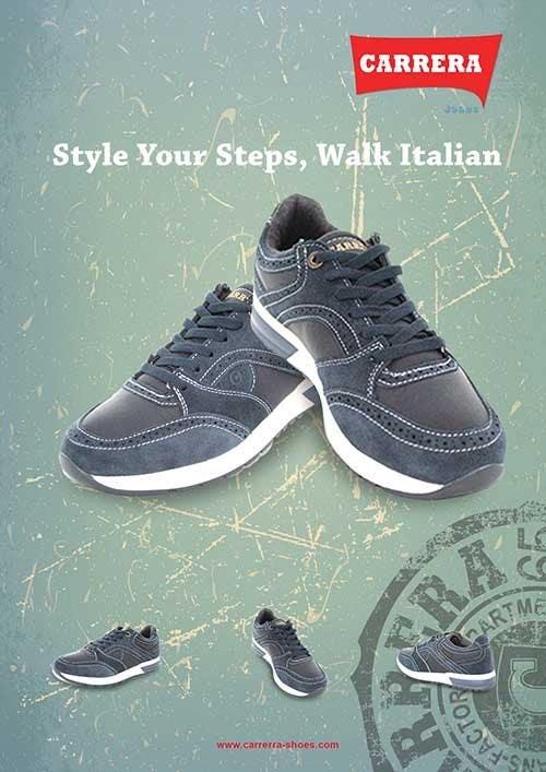 Penyertaan Peraduan #                                        15                                      untuk                                         Poster Graphic Design for Carrera Shoes