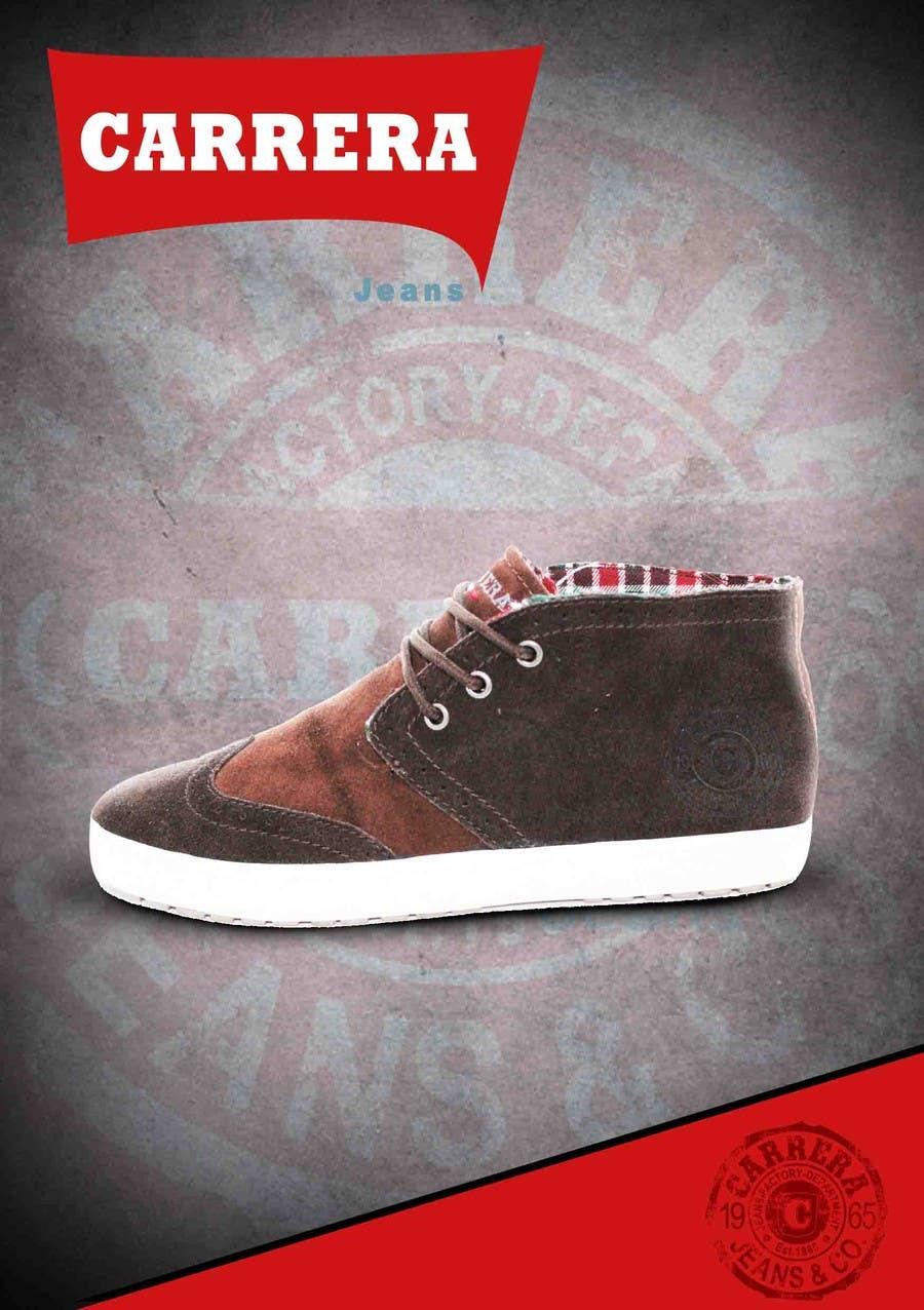 Penyertaan Peraduan #                                        7                                      untuk                                         Poster Graphic Design for Carrera Shoes