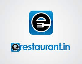 #124 cho Logo Design for www.erestaurant.in bởi benpics
