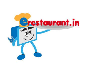 #129 for Logo Design for www.erestaurant.in by Bonnanova