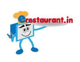 #129 para Logo Design for www.erestaurant.in por Bonnanova