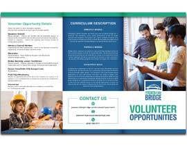 #70 para Rework an Volunteer Opportunity Brochure por kinaman94