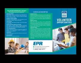 #69 para Rework an Volunteer Opportunity Brochure por ahmedfarid6162