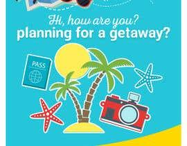 #53 untuk Design a Flyer for a traveling company oleh renardgenita