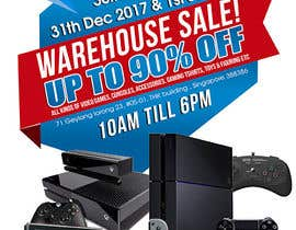 maidang34 tarafından Design a Flyer for Video Games Warehouse Sales. -- 2 için no 69