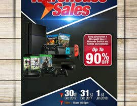 abgsabirin90 tarafından Design a Flyer for Video Games Warehouse Sales. -- 2 için no 73