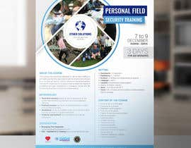 #26 cho Flyer for our Personal Field Security Training bởi arslanizaya