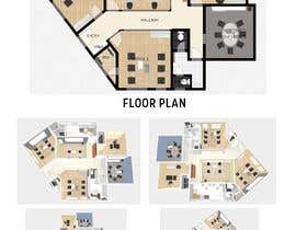 #35 för design office floor plan av winencarnado