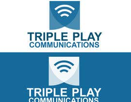 #14 for Triple Play Communications Logo by JoeMcNeil
