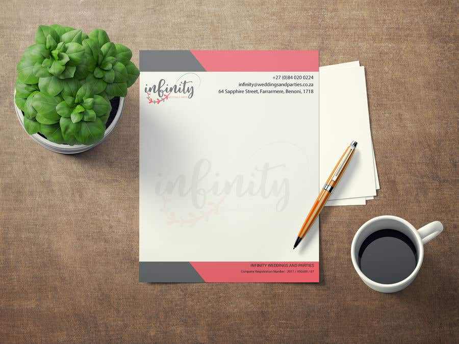 contest entry 43 for design some business cards and a letterhead for wedding and party