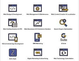 #5 for Design 12 Icons by mhm29