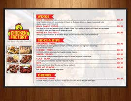 #26 untuk Design a new menu for my chicken shop. oleh teAmGrafic