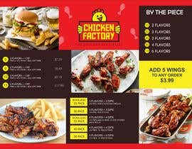 #24 untuk Design a new menu for my chicken shop. oleh evanpv