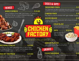 #20 untuk Design a new menu for my chicken shop. oleh ericzgalang