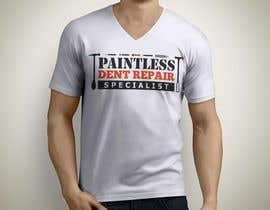 iamshaknx tarafından Design a T-Shirt for an Dent Repair Company için no 34