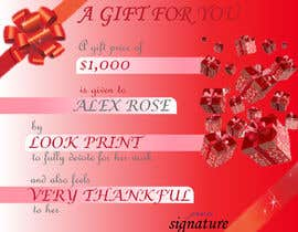 #51 for $1,000 Gift Certificate Design af neha190