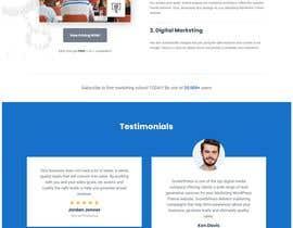 #23 untuk Design a Website Mockup oleh HARVI7