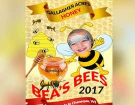 Nro 12 kilpailuun Design a Label for a Jar of Honey - Today! -- 2 käyttäjältä rhrvirus