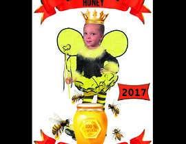 Nro 7 kilpailuun Design a Label for a Jar of Honey - Today! -- 2 käyttäjältä TH1511