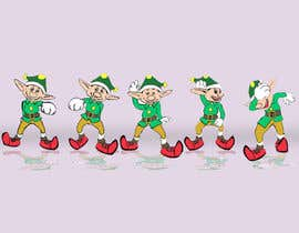 Nanatabi tarafından Friendly cartoon elf - Dancing the Nae Nae için no 12