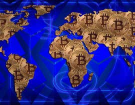 #2 for Create a wallpaper image for my site (themes : finance/crypto currencies/bitcoin/planet) by MarkRios