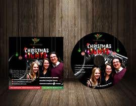 #60 for FAST turnaround - Christmas Jazz CD design using attached templates, PROVIDE editable graphic (replace photo later) by jamiu4luv