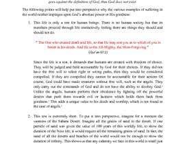 Nro 2 kilpailuun Edit and Critique a section from a book käyttäjältä hearmeroar9