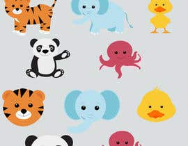 #18 for Matching set of cartoon animals af sonalfriends86