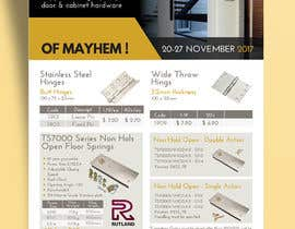 #3 for Graphic design of a 2 page flyer (ZD 8 day specials) by ankurrpipaliya