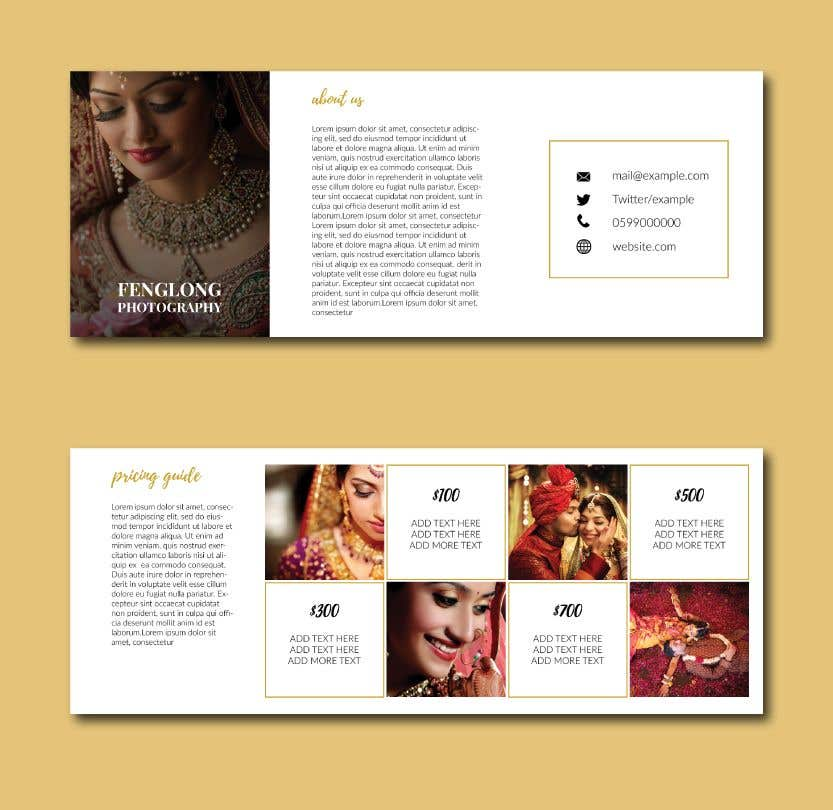 entry 16 by munanazzal for design pricing brochure pdf freelancer