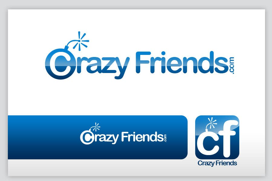 Contest Entry #                                        172                                      for                                         Logo Design for www.crazyfriends.com