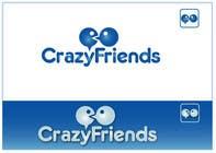 Bài tham dự #216 về Graphic Design cho cuộc thi Logo Design for www.crazyfriends.com