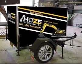 #3 untuk Trailer wrap design for Hoze Hydraulics - Design project oleh hoshammostafa