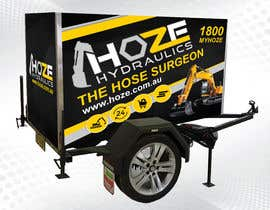 #4 untuk Trailer wrap design for Hoze Hydraulics - Design project oleh CGplus