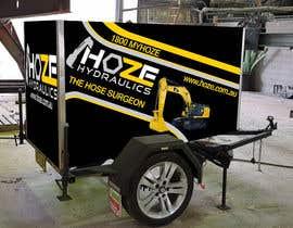 #20 untuk Trailer wrap design for Hoze Hydraulics - Design project oleh TheFaisal