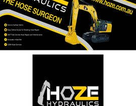 #22 untuk Trailer wrap design for Hoze Hydraulics - Design project oleh TheFaisal