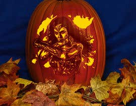 #7 cho Photoshop Action Creation  - 3 Color Carved Pumpkin Mock-Up bởi mihainovac