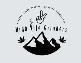 #2 untuk Logo for High Life Grinders oleh ManuelJHV