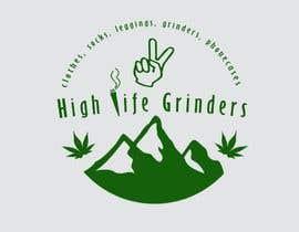 #3 untuk Logo for High Life Grinders oleh ManuelJHV