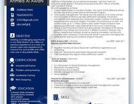 #8 dla Make a resume CV przez mhandalia