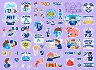 My Levski, My Vibe- Sticker Pack için Graphic Design31 No.lu Yarışma Girdisi